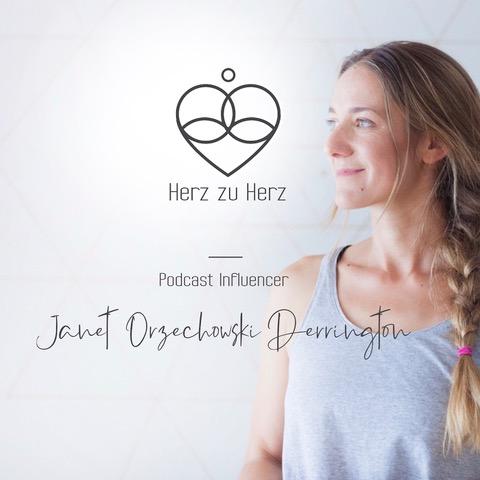 Podcast Herz zu Herz Janet Orzechowski interview von Sandy Kaufmann