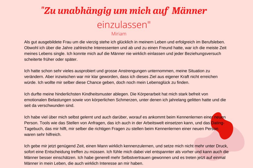 DE_Erfahrungsberichte_Liebescoach_Zu unabhängig um mich auf Männer einzulassen