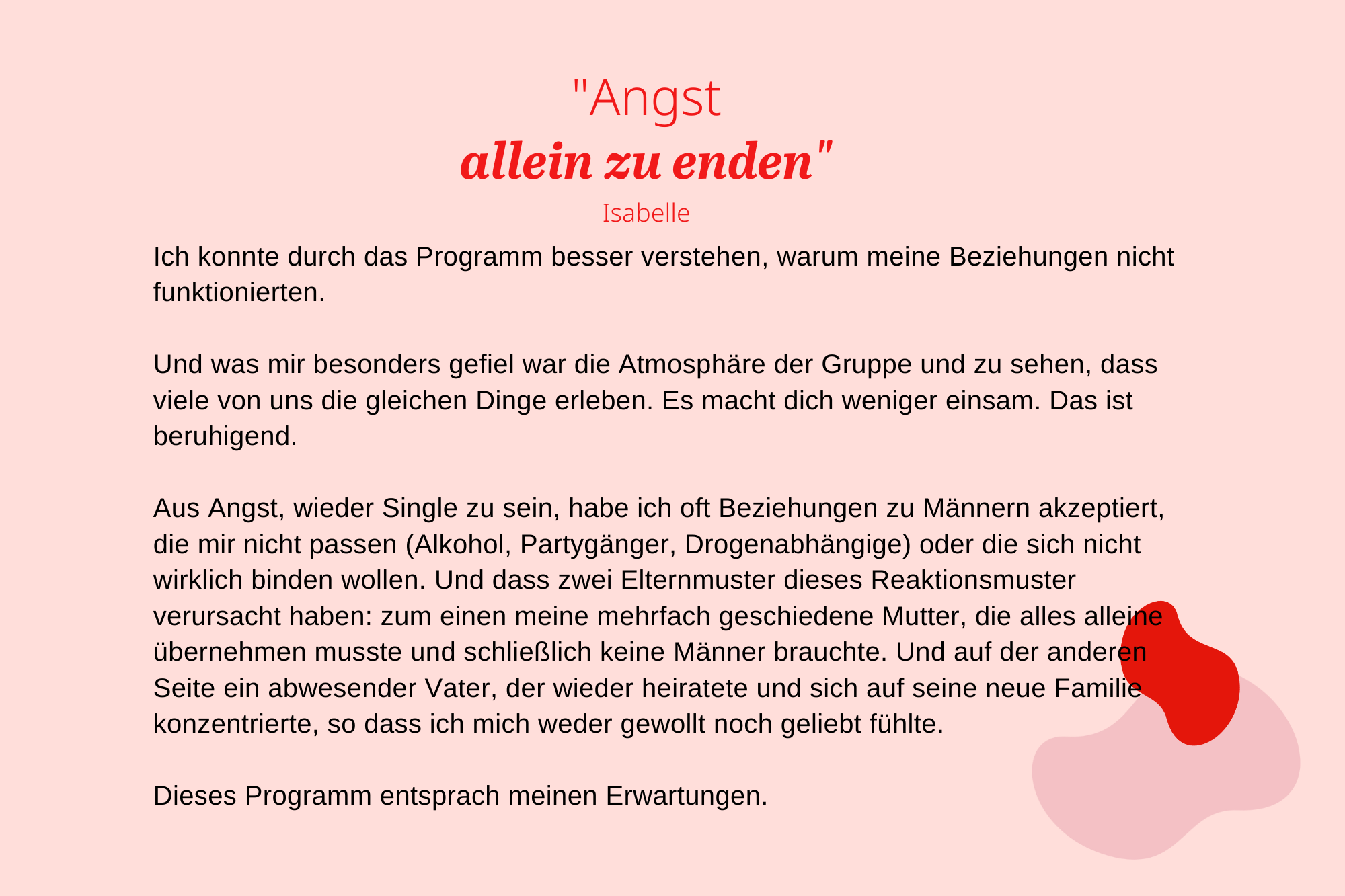 DE_Erfahrungsberichte_Liebescoach_Angst allein zu enden